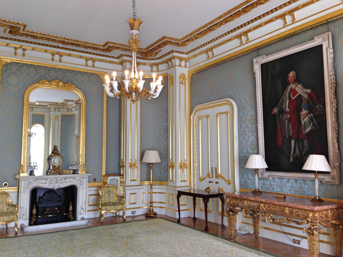 Lancaster House - internal gilding repairs and redecoration