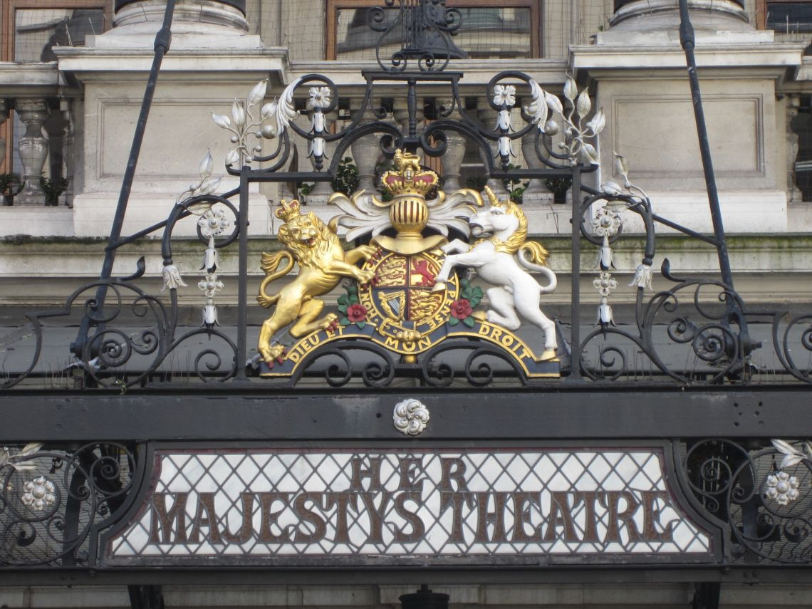 Her Majesty's Theatre external cleaning and repairs programme