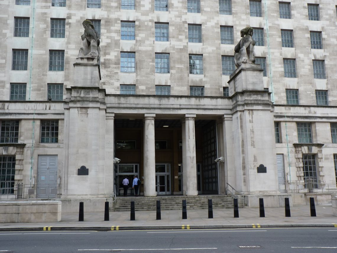 MOD MB North entrance - external facades annual inspection